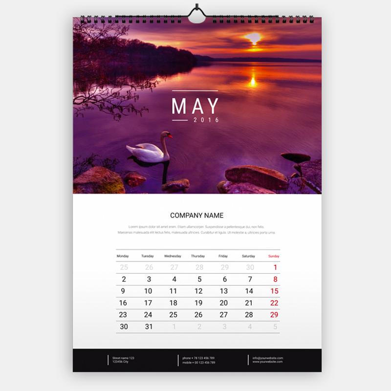 Calendari pieghevoli da tavolo - Calendari da tavolo con foto ...